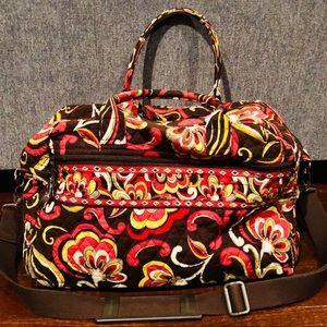 Vera Bradley Puccini Weekender Travel bag.